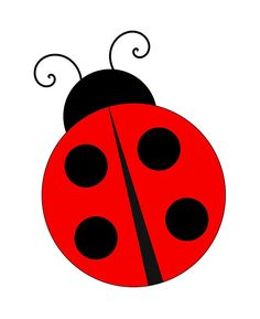 Free Image on Pixabay - Ladybug, Ladybird, Nature, Insect Ladybug Crafts, Ladybug Party, Art Drawings For Kids, Easy Drawings, Ladybug Cartoon, Arts And Crafts, Paper Crafts, Applique Patterns, Applique Templates