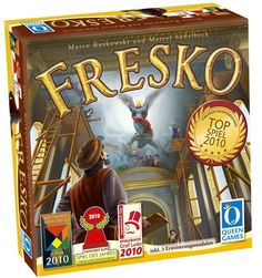 Fresco - Board Game - New - FREE Shipping #QueenGames