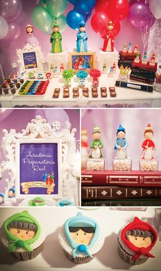 Fairy Godmother desserts table (would be great for Sofia the First OR Cinderella!)