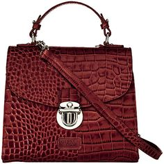 Designer Clothes, Shoes & Bags for Women Osprey London, Satchel Handbags, Leather Satchel, Crocs, Shoulder Bag, Purses, Tote Bags, Red Leather, Stuff To Buy