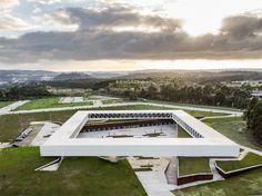 jorge mealha raises óbidos technology park above portuguese landscape