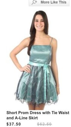 Homecoming or Snowcoming dress