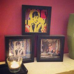 Audrey Hepburn frames