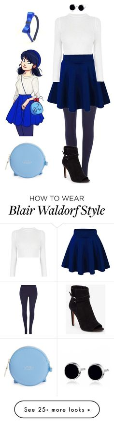 """""""Marinette Styles #08"""" by doninha-quicante on Polyvore featuring Dorothy Perkins, BCBGeneration and Smythson"""