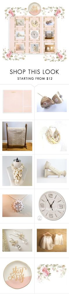 Pretty little things by therusticpelican on Polyvore featuring Sugar Paper, Slant, modern, contemporary, rustic and vintage