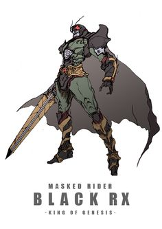 Kamen Rider by zakkizaki Character Concept, Character Art, Concept Art, Manga Anime, Pen & Paper, Kamen Rider Series, Suit Of Armor, Character Design References, Character Illustration