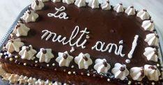 Tort cu mousse de ciocolata alba - insiropat cu ciocolata calda Romanian Desserts, Tiramisu, Sweet Treats, Food And Drink, Birthday Cake, Candy, Ethnic Recipes, Clara Alonso, Chocolate Torte