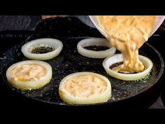 Az év uzsonnája! Ha nem szereted a hagymát, mostantól IMÁDNI fogod| Cookrate - Magyarország - YouTube Beignets, Canapes, Onion Rings, Relleno, Pudding, Tasty, Snacks, Desserts, Food