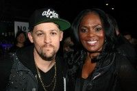 """Joel Madden (L) and BMI's Catherine Brewton attend BMI's """"How I Wrote That Song"""" at Key Club on February 11, 2012 in West Hollywood, California."""