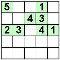Number Logic Puzzles: 20712 - Bricks size 5