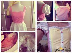 Madoka Cosplay Tutorial by Aurum Cosplay: How to make Madoka's dress!
