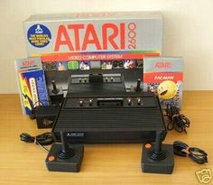 Atari oh lord ! This was the only time I was good at playing video games!