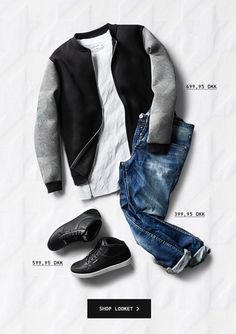 Oufit for Newsletter  promo - London Collection, ORIGINALS by Jack & Jones