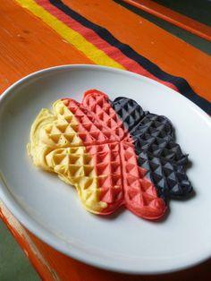 Küchendeern: Übrigens, wir sind Weltmeister!!!Weltmeisterwaffel...