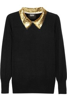DIY CLOTHING INSPO | Sequin Collar