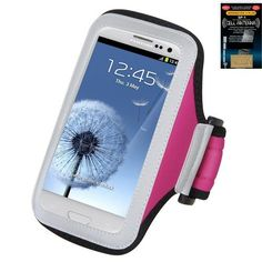 Premium Sport Armband Case for LG Lucid Hot Pink + Cell Phone Antenna Booster. Carry your phone whenever you're on the go with the Lifestyle Armband Case. Armband Case provides carrying convenience when you're working out, jogging, performing outdoor activities or anytime you're on the go. Features elastic straps on the sides to keep phone in place. Super-lightweight water-wicked and flexible nanophase materials. Adjustable armband fits different size arms.
