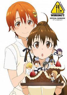 Tags: Anime, Working!!, Takanashi Souta, Satou Jun, Todoroki Yachiyo