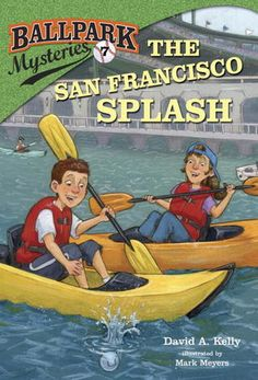 """Read """"Ballpark Mysteries The San Francisco Splash"""" by David A. Kelly available from Rakuten Kobo. Time for a seventh-inning stretch! The San Francisco Splash is book in our early chapter book mystery series, where e. Logan City, San Francisco, City Library, Aleta, Mystery Series, Penguin Random House, Chapter Books, Book Series, Audio Books"""