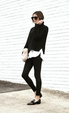 50 Pullover Sweaters Outfit Ideas For Women Black Sweater Outfit, Sweater Outfits, Fall Outfits, Casual Outfits, Big Sweater, Cropped Sweater, Pullover Outfit, Pullover Sweaters, Pullover Pullover
