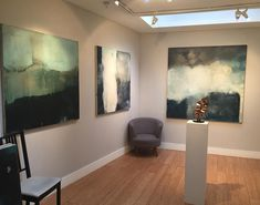 Interior shot from my show at @cadogan_contemporary Runs until Feb 11th #art #abstract #london #britishart #