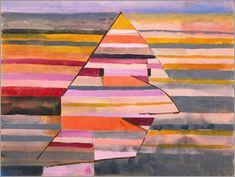 Paul Klee - Der Clown Pyramidal