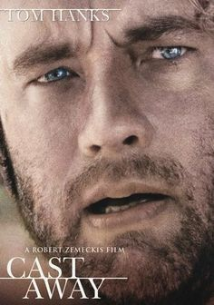 Cast Away (2000) After FedEx systems engineer Chuck Noland's (Tom Hanks) plane crashes in the Pacific Ocean, he finds himself fighting to survive on a deserted island with nothing but a painted volleyball -- a silent partner he names Wilson -- for company. An acting tour de force for Hanks (who received a Golden Globe Award for his performance), this drama from director Robert Zemeckis is a fascinating abstract about the indomitability of the human spirit.