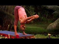 Yoga pour débutants - Etirement de la colonne vertébrale - YouTube