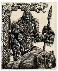 Grimkell Bearslayer by vikingmyke.deviantart.com on @deviantART