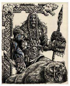 Grimkell Bearslayer by vikingmyke.deviantart.com on @deviantART