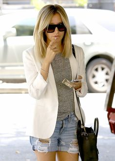 flauwz:     6/17/14- Ashley Tisdale leaving Nine Zero One Salon in West Hollywood.  Celebs, fashion and models. X