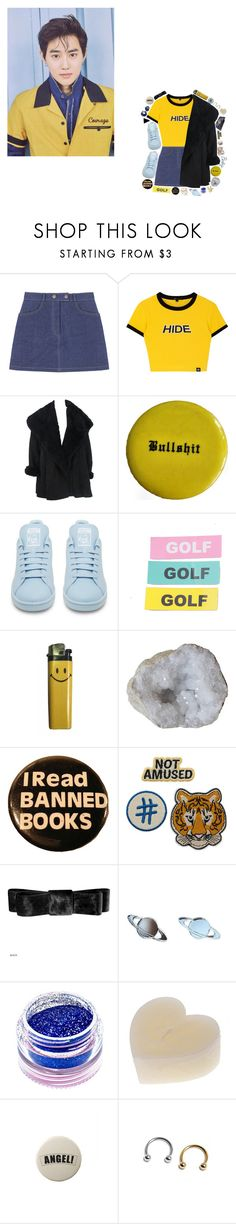 """""""Unfair - EXO"""" by choiseungcheols ❤ liked on Polyvore featuring Calvin Klein, adidas and Medusa's Makeup"""