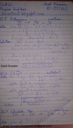Nuclear Physics, Physics Notes, C Note, Math Equations, Java, Mom, Mothers