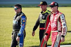 The owner and his drivers.