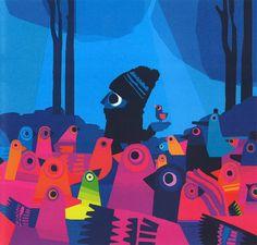 Chris Haughton. Children's book illustrator. His website: http://www.chrishaughton.com