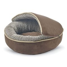 Hooded Nest Dog Bed - Dog Beds, Gates, Crates, Collars, Toys, Dog Clothing & Gifts