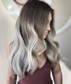 "2,450 Likes, 18 Comments - INSPIRATION ➕ EDUCATION (@balayageartists) on Instagram: ""S m o k e y • B l o n d e  These ash tones are just beautiful!  Ombré by @myratheartist """