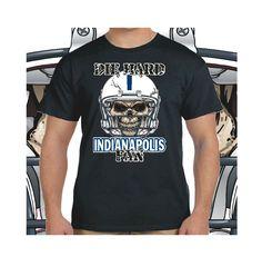 Indianapolis+Die+Hard+Fan+Black+T-Shirt+100%+Cotton