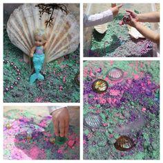 The Golden Gleam: Magical Mermaid Sensory Small World Play