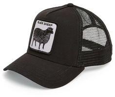 4fd1bc3f42f2c Goorin Brothers  Animal Farm - Naughty Lamb  Trucker Cap Mens Caps