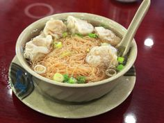 best wonton soup in chinatown winners Wonton Noodle Soup, Wonton Noodles, Asian Recipes, Asian Foods, Ethnic Recipes, Chinese Street Food, Cooking Recipes, Nyc, Places