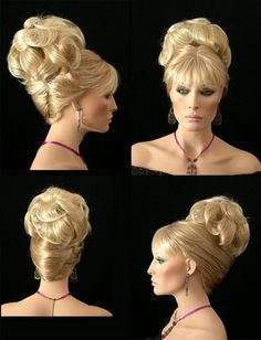 how-to-do-hair-in-a-classic-french-twist - Fab New Hairstyle 2 Low Updo Hairstyles, Trending Hairstyles, Elegant Hairstyles, Crazy Hairstyles, Hairdos, Updo Styles, Hot Hair Styles, Medium Hair Styles, Hair Cute