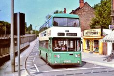 Aigburth Vale down the dip, Liverpool Town, Blue Bus, Double Decker Bus, Local History, Pet Store, Coaches, Buses, Old Photos, Transportation