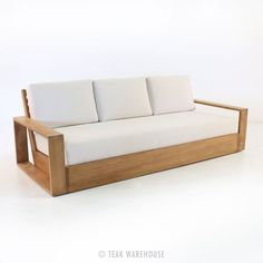 Teak Warehouse | Kuba Teak Outdoor Sofa