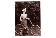 One Kings Lane - Paul Walter - Princess & Poodle w/Bicycle Photograph