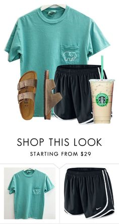 """""""Casual Florida day"""" by flroasburn on Polyvore featuring NIKE and TravelSmith"""