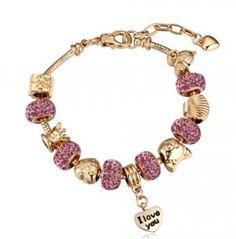 Personalized Photo Charms Compatible with Pandora Bracelets. Bratari Pandora Purple