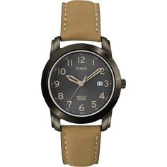 Timex Men's T2P1339J Elevated Classics Watch with Brown Leather Strap
