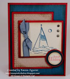 Stampin' By The Bay: Uncharted Territory Birthday Card