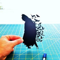 Batman 8x10 Paper Cutting by cooperscuts on Etsy, $45.00