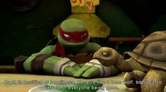 Headcanons Await! WHAT are tmnt Headcanons doing to my FEELS tonight?! I need to submit something funny just to strike a balance. XD